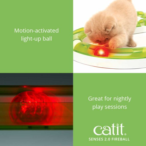 Senses 2.0 Fireball is a motion-activated light-up ball that is great for nightly play sessions