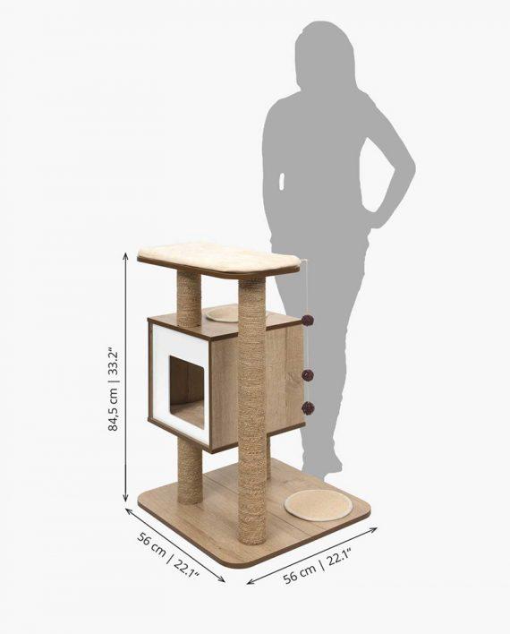 Measurements - Vesper Base oak
