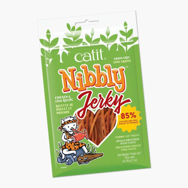 44482 - Nibbly Jerky Chicken Fish