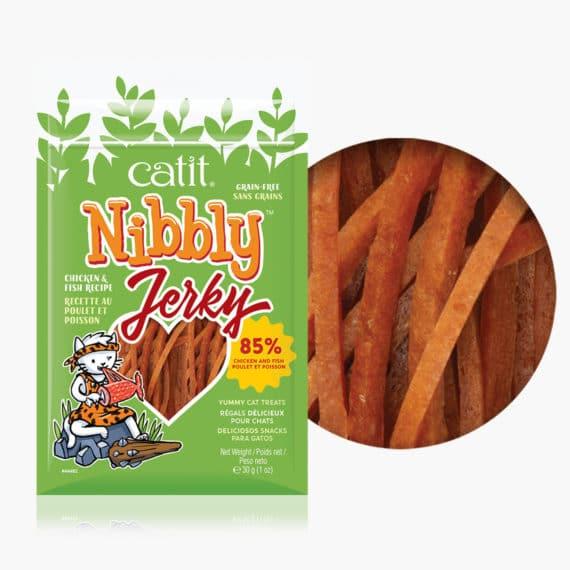44482 - Nibbly Jerky Chicken & Fish