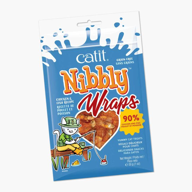 44483 - Nibbly Wraps Chicken Fish