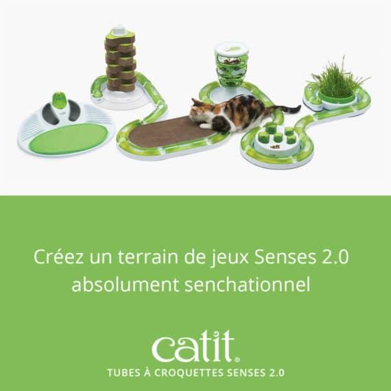 Créez un terrain de jeux Senses2.0 absolument senchationnel avec les Tubes à croquettes Senses 2.0