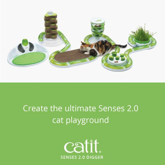 Create the Ultimate Senses 2.0 cat playground with the Senses 2.0 Digger