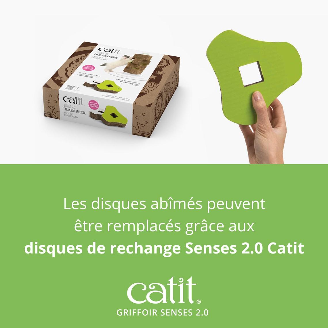 Griffoir Chat Carton Design griffoir senses 2.0