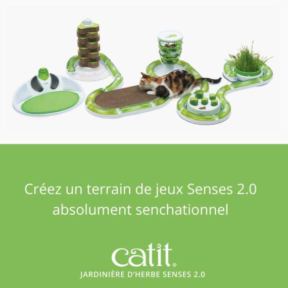 Créez un terrain de jeux Senses 2.0 absolument senchationnel avec la jardinière d'herbe Senses 2.0
