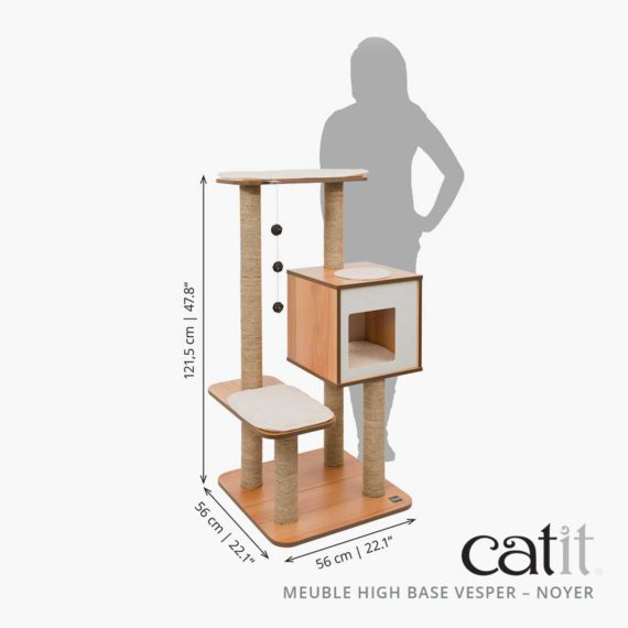 Meuble Vesper High Base Catit - Dimensions
