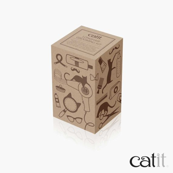 Catit Longhair Grooming Kit box