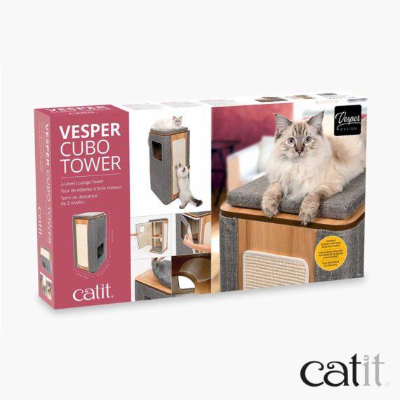 Catit Vesper Cubo Tower – Box