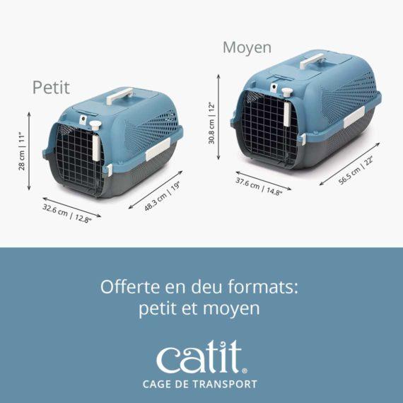 Cage de transport Catit - Offerte en deu formats: petit et moyen