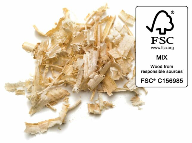 Wood litter - FSC certified