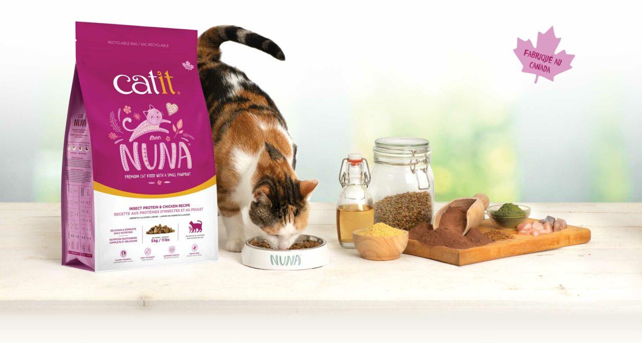 Aliments Catit Nuna - Fabriqué au Canada