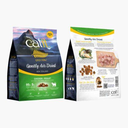 Aliments séchés à l'air Catit Gold Fern - Ingrédients - Poulet sac